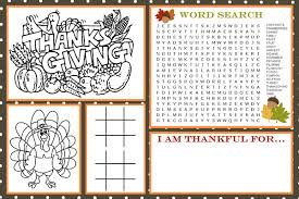 printable thanksgiving activity placemats happy thanksgiving