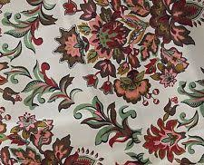 Vintage Floral Upholstery Fabric Victorian Floral Upholstery Fabric Ebay