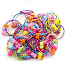 elastic hairband isnice 100 pcs high quality kids elastic hair