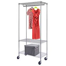 wardrobe racks astounding rolling hanging clothes rack rolling