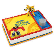 bumble bee cake toppers transformers optimus prime and bumblebee cake topper bling your cake