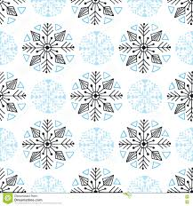 snowflakes seamless pattern winter background decoration