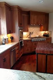eagle kitchen custom rustic cherry cabinets