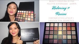 Eyeshadow Viva Murah creations eyeshadow palette unboxing lipstick