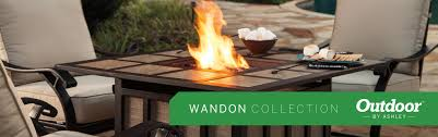 Ashley Outdoor Furniture Amazon Com Ashley Furniture Signature Design Wandon Cushioned