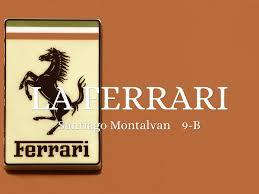 ferrari horse logo la ferrari by santi montalvan