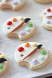Icing To Decorate Cookies How To Cover Cookies With Fondant U0026 Art Palette Cookie Tutorial