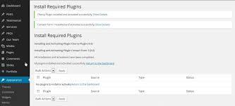 wordpress how to install cherry framework 3 x template starting