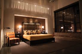 bedroom feature light lighting design fixtures light track