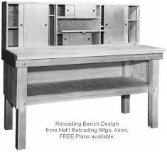 Build Your Own Work Bench Build Your Own Reloading Bench With Free Plans Daily Bulletin