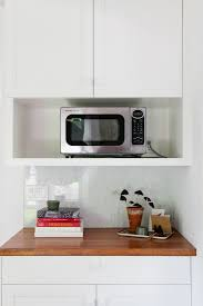 14 strategies for hiding the microwave remodelista