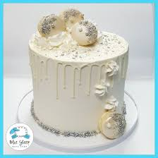 winter wonderland holiday cake blue sheep bake shop