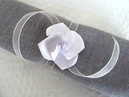 Pliage Serviette Papier Poinsettia by Ronds De Serviette En Origami Pour Mariage Rose Blanche En