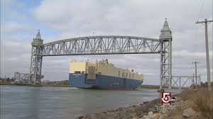 cape cod canal traffic by the ton