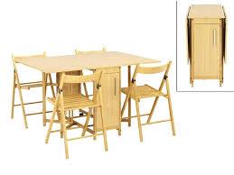table avec chaise encastrable table pliante avec chaises encastrables table jardin pliante bois