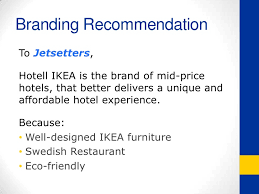 hotell ikea new product concept deck