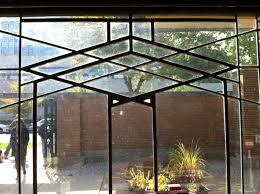 robie house garage window 1910 chicago illinois frank lloyd