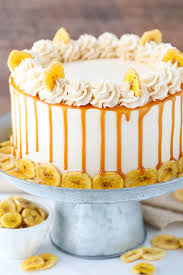 caramel banana layer cake caramel frosting cake cover and caramel