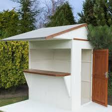 Garden Bar Ideas 6x4 Timber Bar Shiplap Timber Bar Garden Store Departments