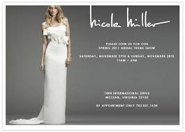 miller bridal miller bridal trunk show 100 layer cake