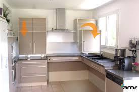 hauteur de cuisine meuble cuisine en hauteur cuisine en image