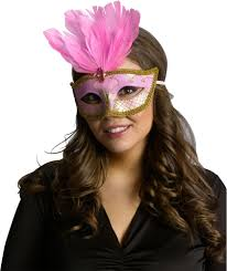 carnival mask feather assortment halloween