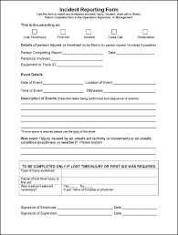 download incident report form template word for free tidyform