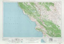 United States Topographical Map by San Luis Obispo Topographic Map Sheet United States 1963 Full Size