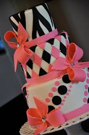 Pink And Black Sweet 16 Decorations Sweet Sixteen Cake Ideas Purple Pink Black 22137 Pink Whit