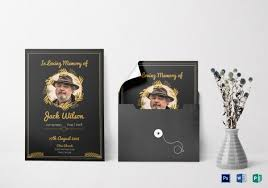 funeral program sles 26 free printable invitation templates ms word free
