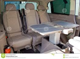 luxury minivan interior of a minivan royalty free stock photos image 5687058
