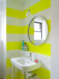 19 small bathrooms that pack a punch with style and color hgtv