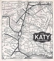 Map Missouri Timetable Katy Railroad Mkt Missouri Kansas Texas Sys U2026 Flickr