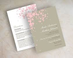cherry blossom wedding invitations cherry blossom wedding invitations c39 all about beautiful wedding
