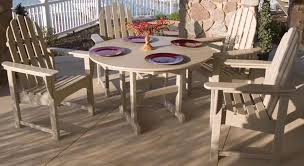 Adirondack Patio Furniture Sets Adirondack Patio Furniture Set By Polywood Pelican Patio Stores