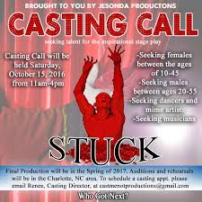 Seeking Show Cast Theater Auditions For Stuck In Nc Auditions Free