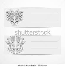 ornament ancient incas indians symbols elements stock vector
