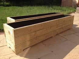 water trough planter trough planter and boxes for gardens u2014 the homy design