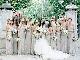 papell bridesmaid dress wedding trends beaded bridesmaid dresses the magazine