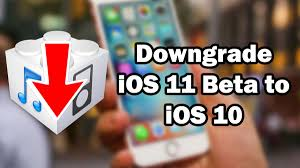 how to downgrade ios 11 beta to ios 10 3 3 10 3 2 on iphone