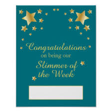 weight loss encouragement posters zazzle