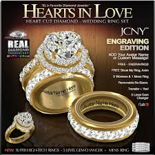 gold or silver wedding rings second marketplace jcny hearts in engraving
