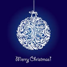 blue merry christmas clipart 1936396