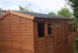 How To Re Roof A Shed With Onduline Corrugated Roofing Sheets by 9x5 Apex Beast Shed Easy Shed