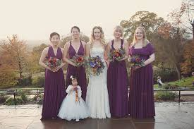 an autumnal burnt orange and plum wedding in richmond park uk