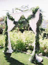 wedding arches using tulle 11 creative ways to use greenery in your wedding tulle