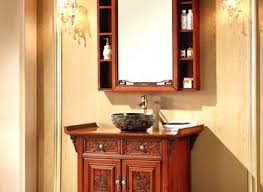 Oak Bathroom Cabinet Gorgeous Rustic Bathroom Cabinets Oak Wall Cabinet Uk Furniture