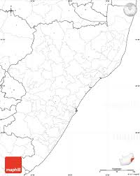 Africa Blank Map by Blank Simple Map Of Kwazulu Natal No Labels