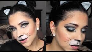 easy halloween cat makeup tutorial collab w julia salvia youtube