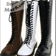 womens boots zip up shop s knee high combat boots on wanelo